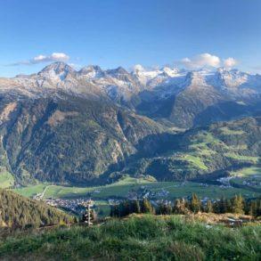 plantation d'arbres dans les montagnes suisses