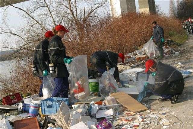 Nettoyage des ordures