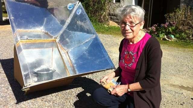 Jeannette Chiron énergie solaire