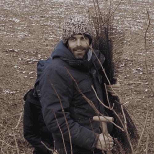 """Alan Guillou est co-fondateur de l'association """"Les Planteurs Volontaires"""