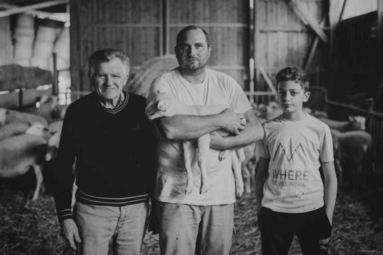Rémi Estavil agriculteur et éleveur de brebis