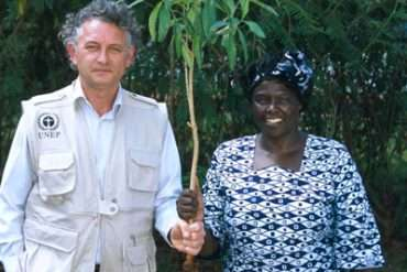 WangariMaathai and Jacques Rocher