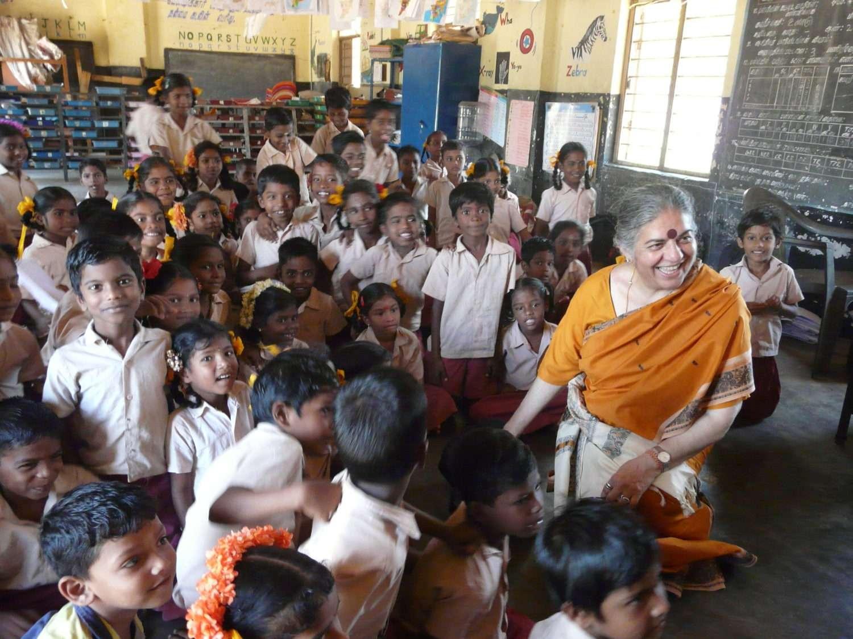 « vandana shiva international award biofarm international kids »
