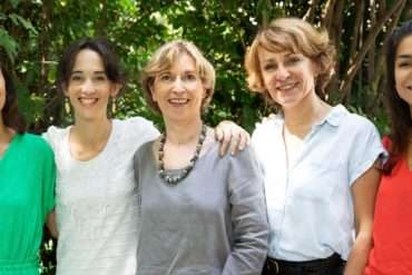 l'équipe Fondation Yves Rocher