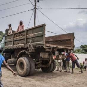 FAUSTO PODAVINI. Reportage en Ethiopie, vallée de l'Omo