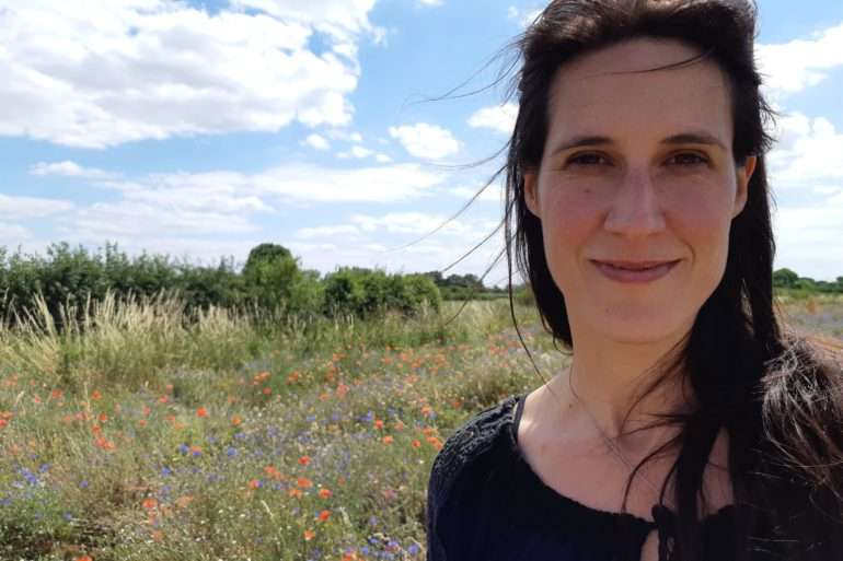 Marieke Ketelaar de champs de fleurs sauvages en ville