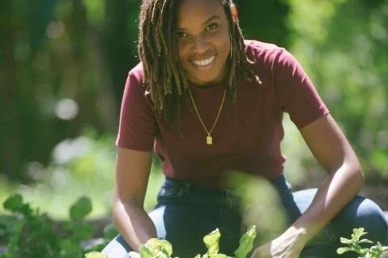 Ayanna Mouflet lauréate Terre de Femmes France 2020 avec son association TA NOU