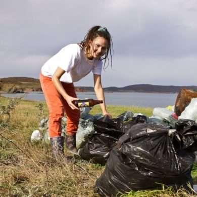Natalia Yakunina / Île de Rêve / Russie / Kraï du Primoré/ Préservation de l'environnement/ Gestion des déchets