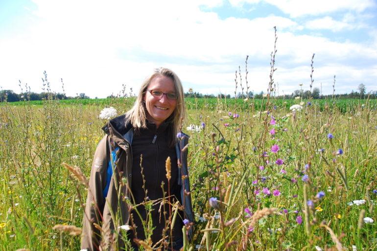 Simone Kern / biodiversité locale / Préservation de l'environnement/ protection des insectes pollinisateurs