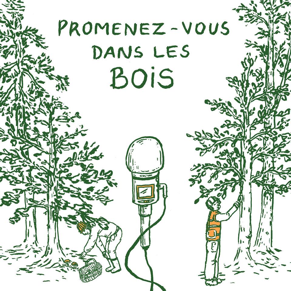 Promenez-vous dans les bois, d'Antoine Bibié