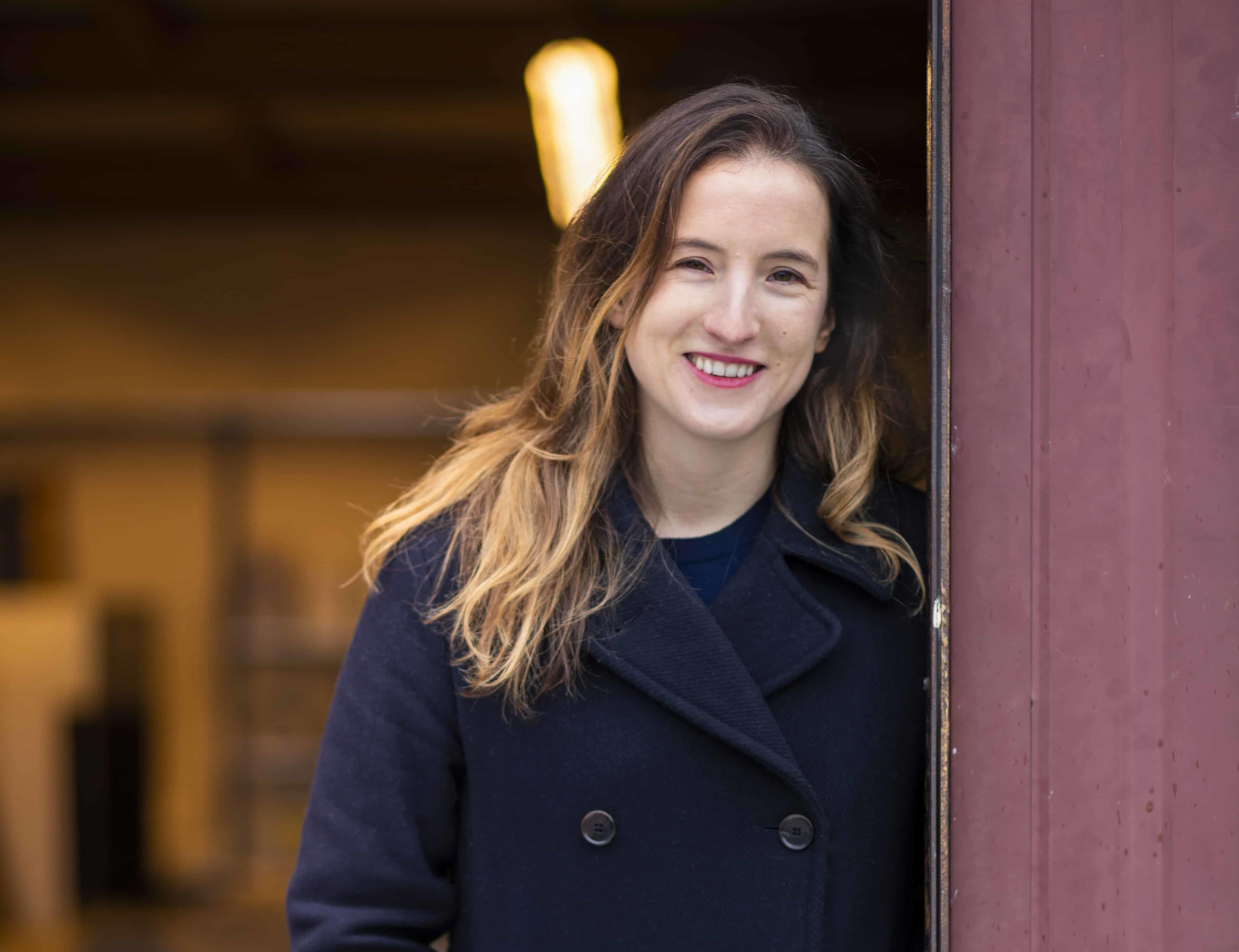 Joanne Boachon, winner of the Terre de Femmes France 2021 Award, Minéka Association for materials recovery